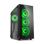 Sharkoon TG5 negro verde  Caja