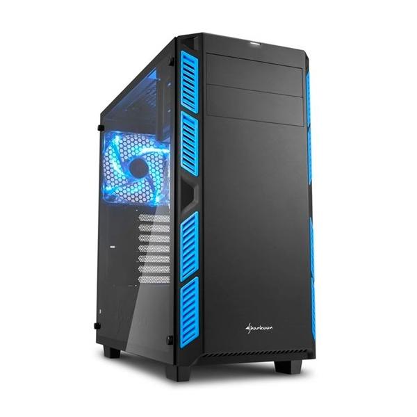 Sharkoon AI7000 negra azul – Caja