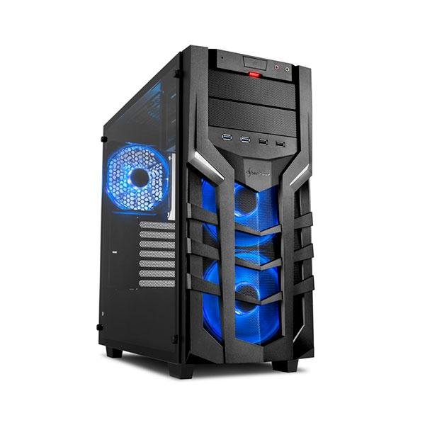 Sharkoon DG7000-G RGB negra – Caja