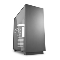 Sharkoon Pure steel negra ATX - Caja