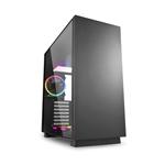 Sharkoon Pure steel negra ATX con ventiladores ARGB  Caja