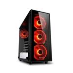 Sharkoon TG4 red ATX - Caja