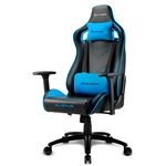 Sharkoon Elbrus 2 Black  Blue  Silla