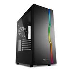 Sharkoon Slider RGB Black  Caja