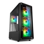 Sharkoon TK4 RGB Black  Caja