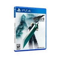 Sony PS4 Final Fantasy VII Remake  Videojuego