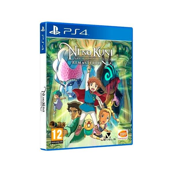 Sony PS4 Ni No Kuni La ira de la bruja blanca  Juego