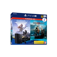 Sony PS4 Pro 1TB + God of war + Horizon Zero Dawn - Consola