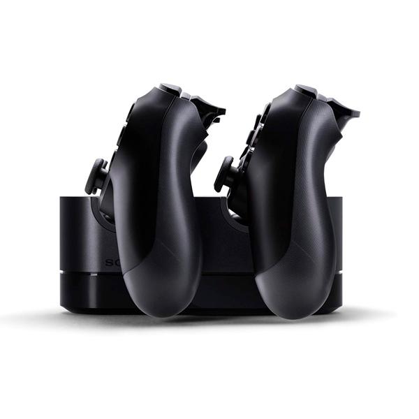 Sony base de carga Dualshock PS4  - Accesorio consola