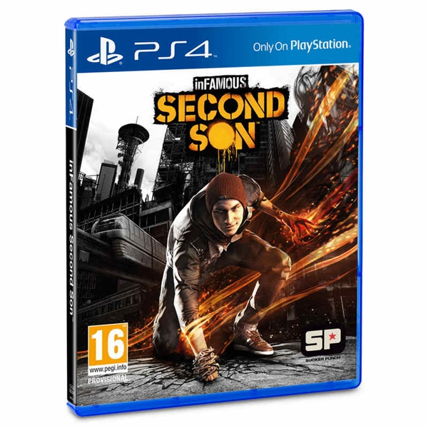 Sony PS4 Infamous: Second Son – Videojuego