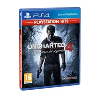 Sony PS4 HITS Uncharted 4  Videojuego