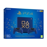 Sony PS4 Slim 500GB Days of Play + 2 Dual Shock - Consola
