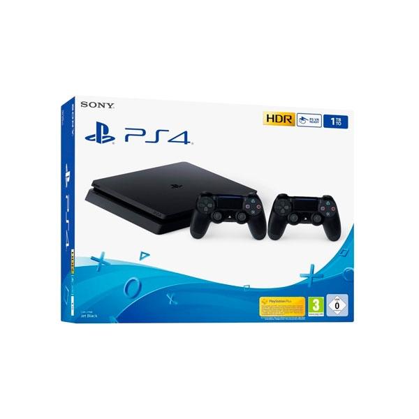 CONS. PS4 SLIM 1TB INCLUYE 2 MANDOS