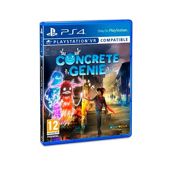 Sony PS4 Concrete Genie  Videojuego