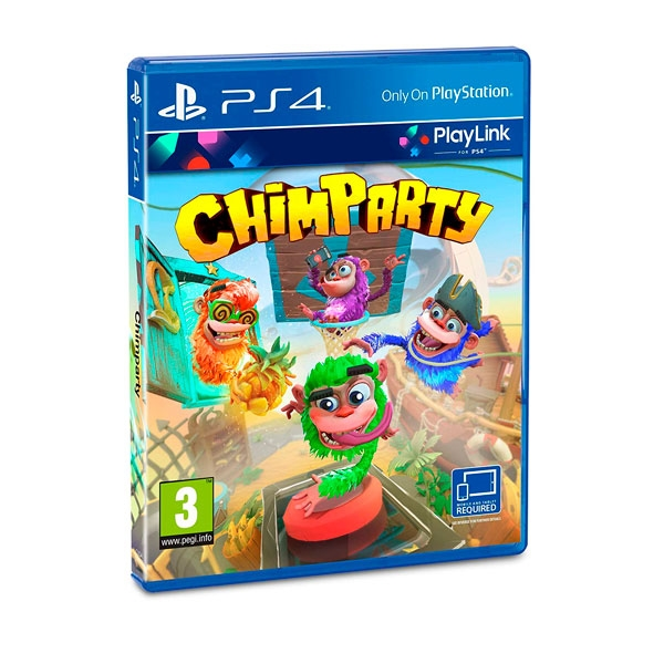 Sony PS4 Chimparty - Videojuego