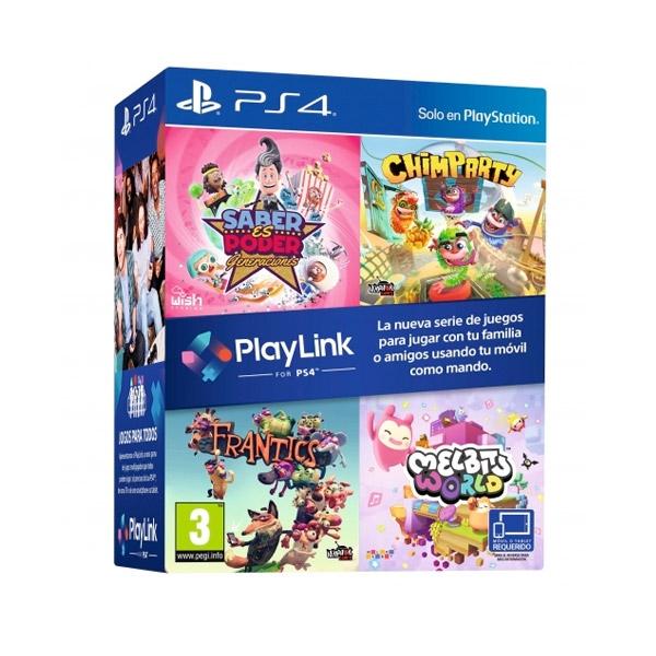 Sony PS4 Pack 4 Juegos para Playlink – Videojuego