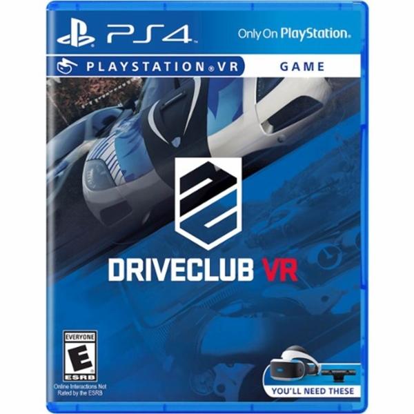 Sony PS4 DriveClub VR – Videojuego