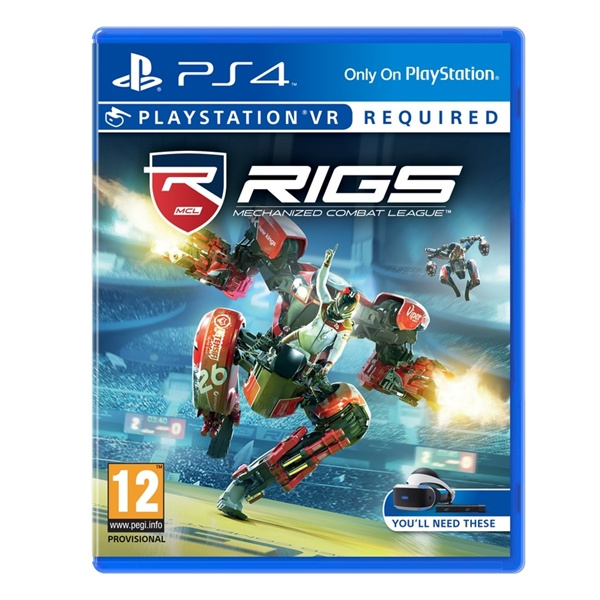 Sony PS4 Rigs Mechanizel Combat League VR  Videojuego