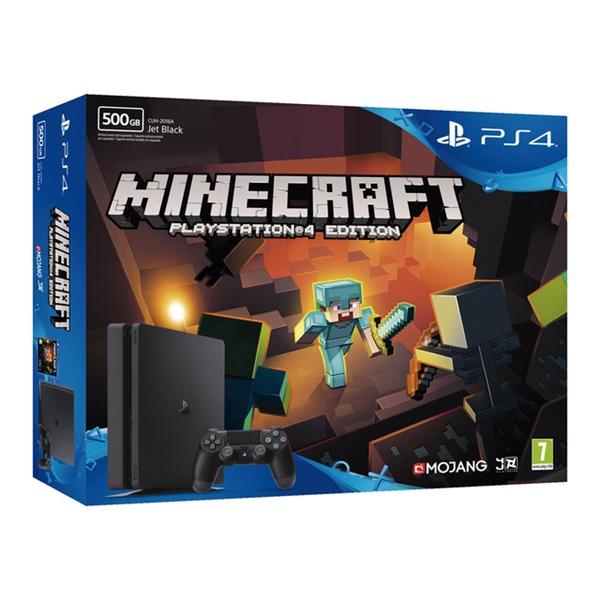 Sony PlayStation 4 Slim 500GB + Minecraft – Consola
