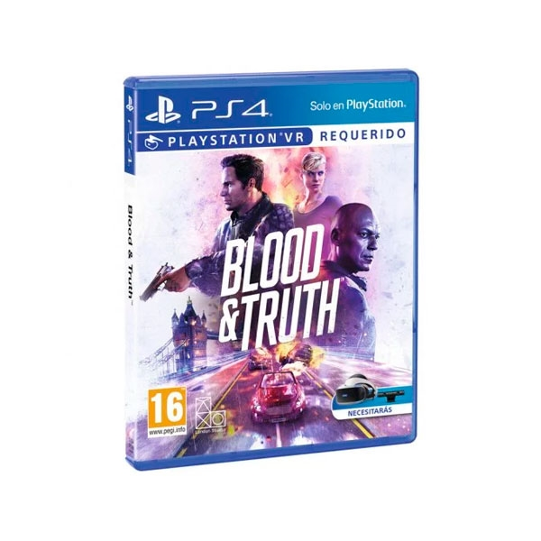 Sony PS4 Blood And Thruth - Videojuego