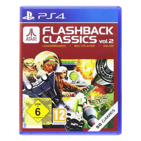 Sony PS4 Atari Flashback Classics Volume 2  Videojuego