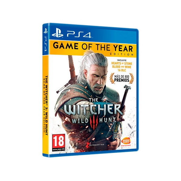 JUEGO SONY PS4 THEWITCHER3WILDHUNT GOTY