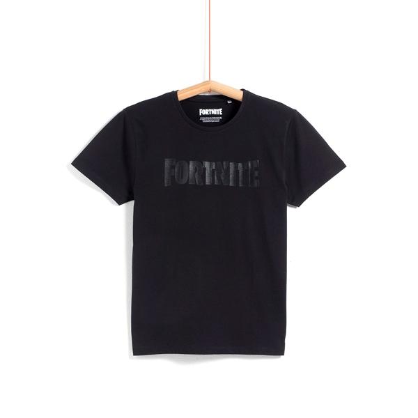 Camiseta Fortnite Black Logo Talla M