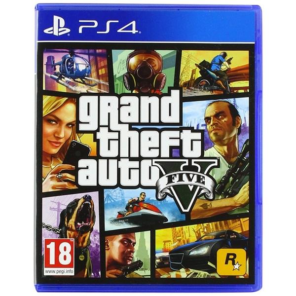 Sony PS4 Gran Theft Auto V  Videojuego
