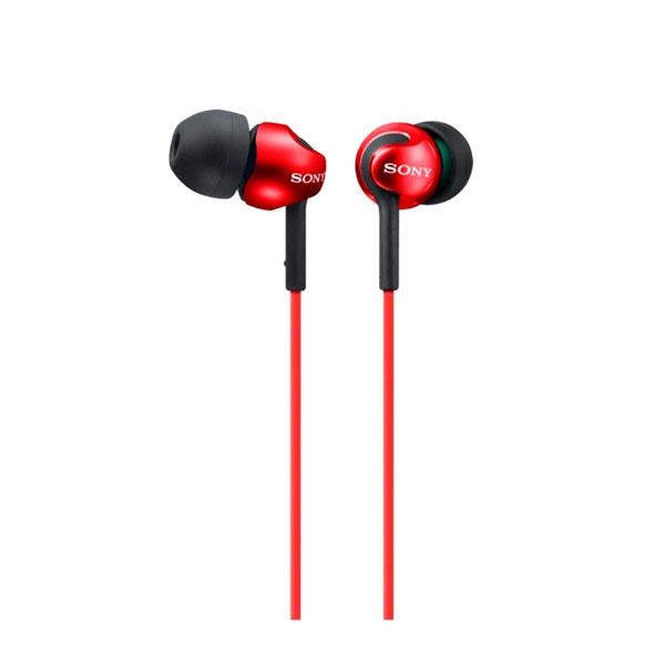 Sony MDR-EX110LP rojo – Auriculares