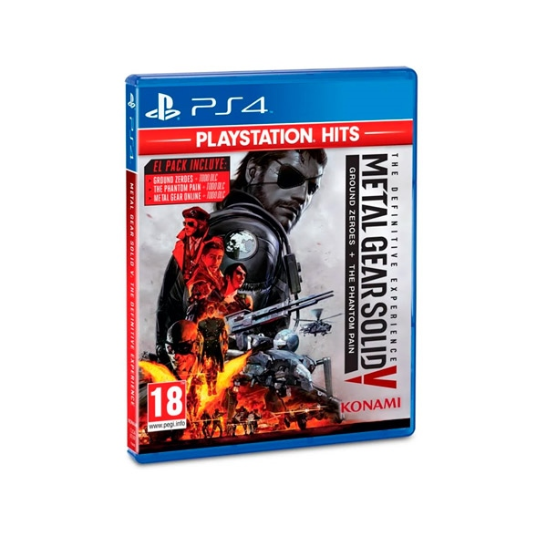Sony PS4 HITS Metal Gear Solid V – Juego