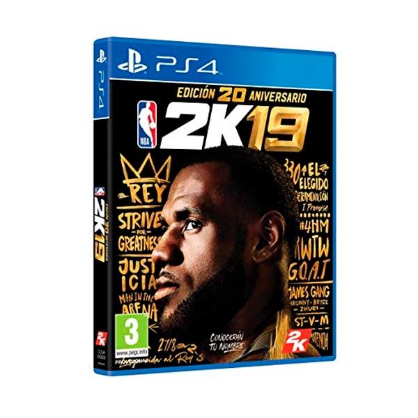 Sony PS4 NBA 2K19 Edición 20 aniversario  Videojuego