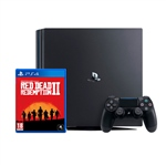 Sony PS4 Pro 1TB Negra + Red Dead Redemption 2 - Consola