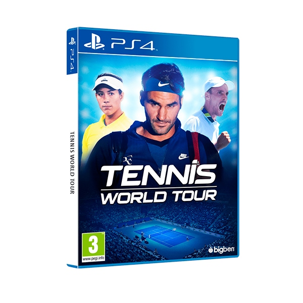 Sony PS4 Tennis World Tour - Videojuego
