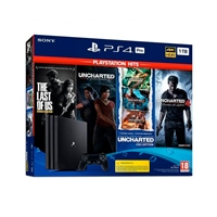 Sony Playstation 4 Pro 1TB + 6 Juegos Hits - Consola