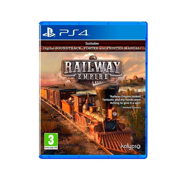 Sony PS4 Railway Empire – Videojuego