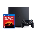 Sony PS4 Slim 1TB Negra  Red Dead Redemption 2  Consola