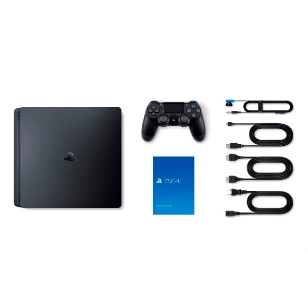 Sony PS4 Slim 500GB + Spider-Man + Nier Autómata - Consola