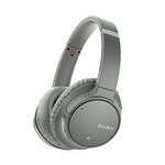 Sony WHCH700N Bluetooth Gris Auriculares Inalmbricos