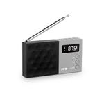SPC Jetty Negra  Radio Despertador Porttil
