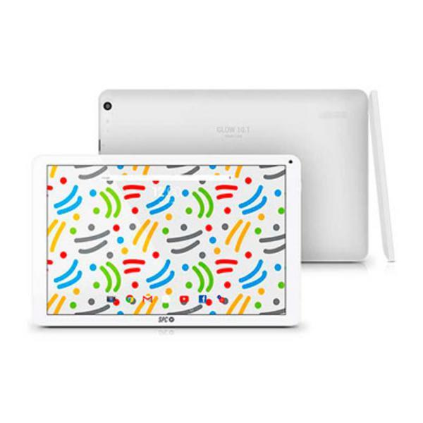 SPC GLOW 10.1 QC A7 1.2GHz 1GB 16GB  Andro 6 Blanco – Tablet