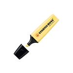 Marcador Fluorescente Stabilo Boss color Amarillo Cremoso