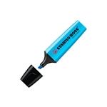 Marcador Fluorescente Stabilo Boss color Azul