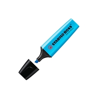 Marcador Fluorescente Stabilo Boss color Azul