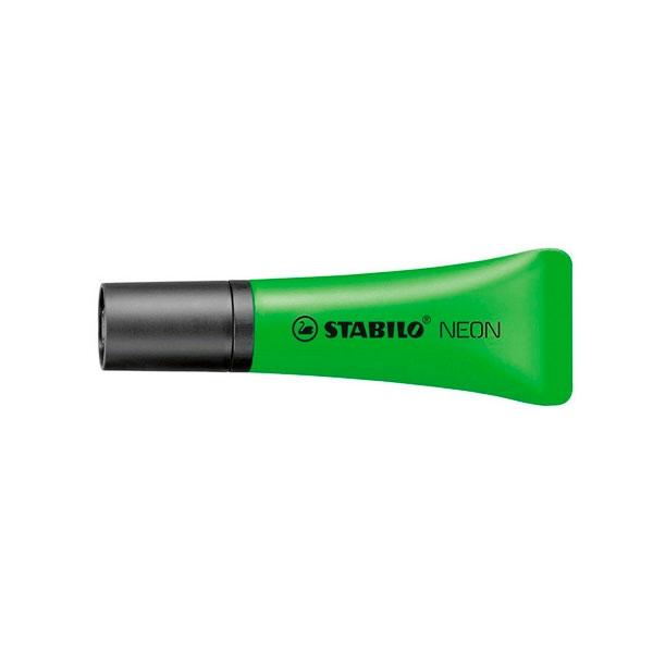 Marcador Fluorescente Stabilo Neon color Verde