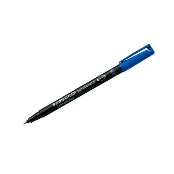 Rotulador Permanente Staedtler Lumocolor Punta 04mm Azul