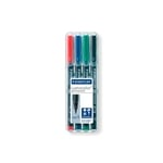 Rotulador Permanente Staedtler Lumocolor Punta 0.4mm pack 4