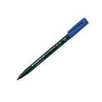 Rotulador Permanente Staedtler Lumocolor Punta 1mm Azul