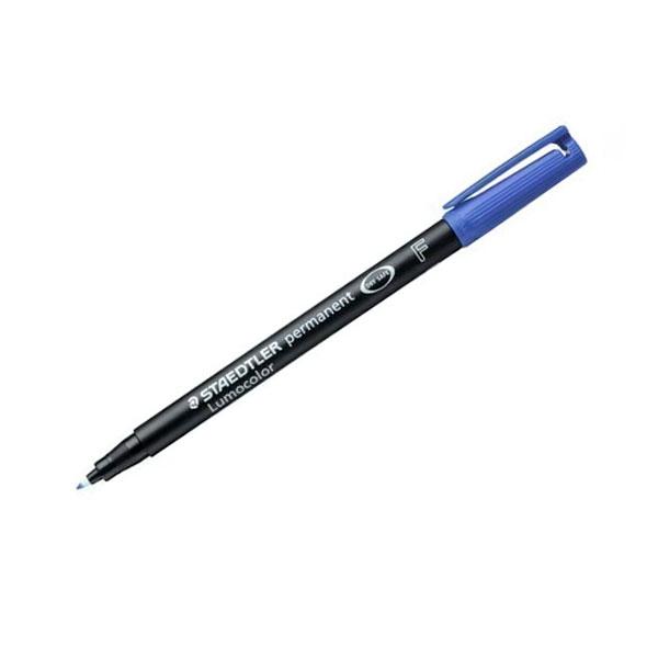 Rotulador Permanente Staedtler Lumocolor Punta 06mm Azul