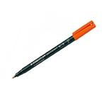 Rotulador Permanente Staedtler Lumocolor Punta 06mm Naranja