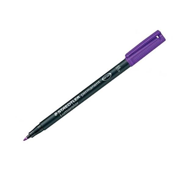 Rotulador Permanente Staedtler Lumocolor Punta 0.6mm Violeta